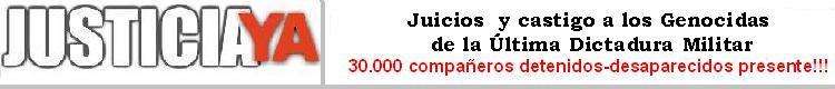 Justicia Ya Blog