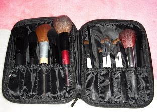 Makeup Brushes on Pictures Of My New Elf Products   My New Caboodles Makeup Case
