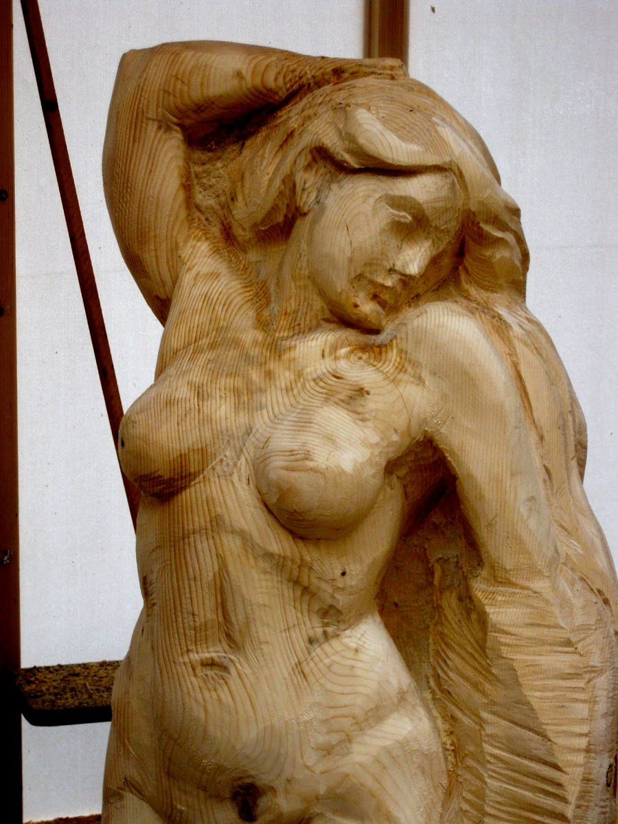 Erb s woodcarving chainsaw carving day iv