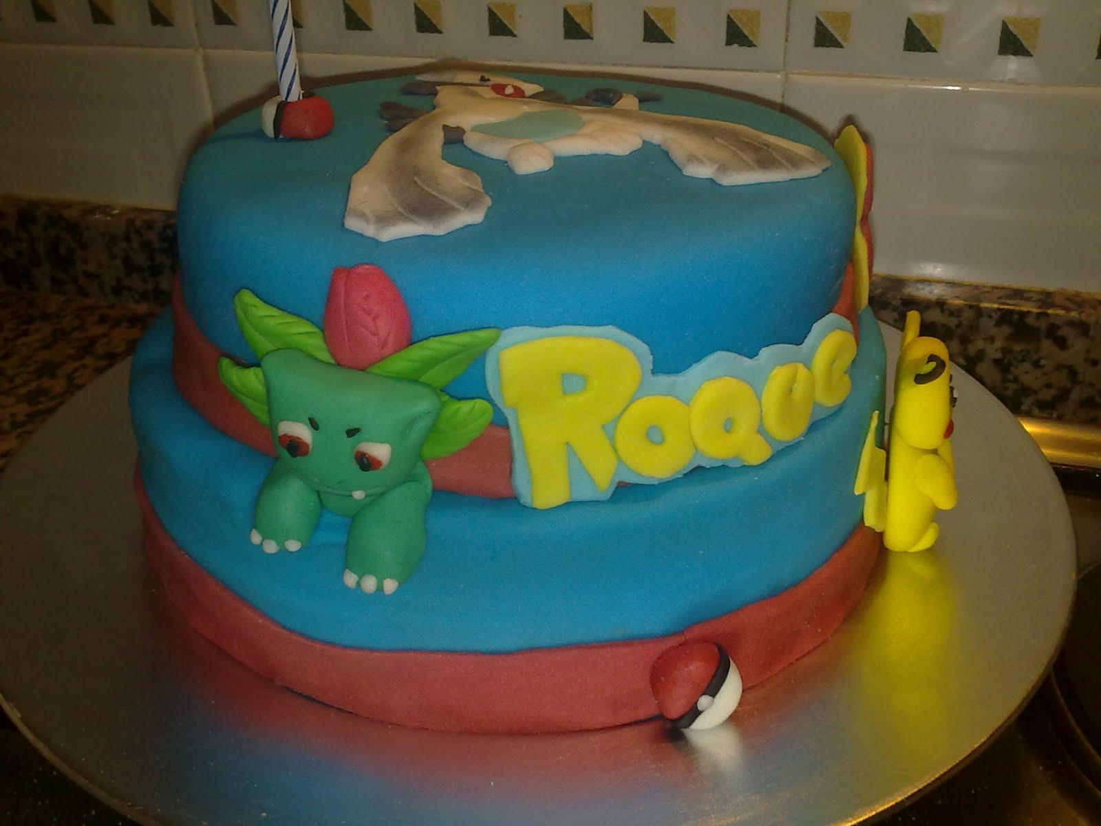 Va Be Cake Design Torino Orari : La boutique de las tartas - Cake Design: Pokemon para Roque