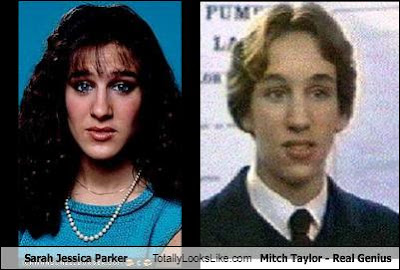 Did you know Sarah Jessica was in Real Genius?? Me neither!!