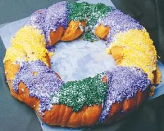 Tone knows King Cakes....like THIS one from Gambino's Bakery!