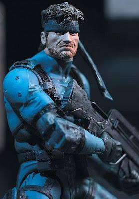 Solid Snake's a PIMP!