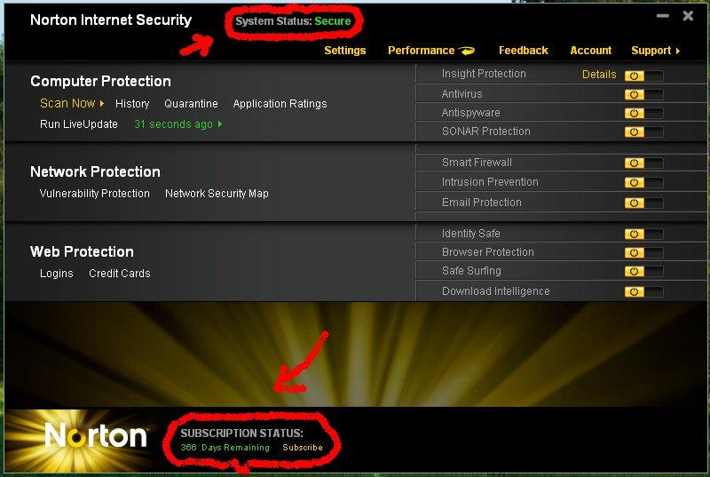software computer norton internet security 2011 full free. Black Bedroom Furniture Sets. Home Design Ideas