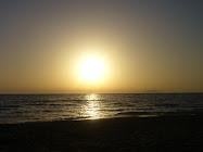 Marsala, tramonto.