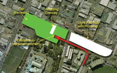 'Nodding Donkey' plan for Memorial Park