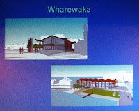 Updated render of Wharewaka for Taranaki St Wharf West