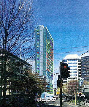 Proposed Columbard apartments in Victoria St