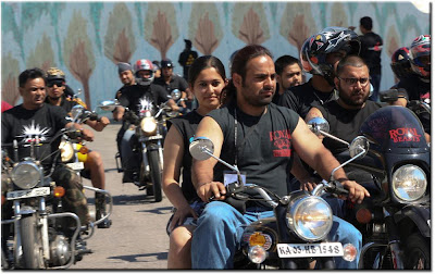Royal Enfield Riders @ Rider Mania 2008