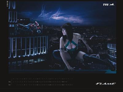 TVS Flame Calendar