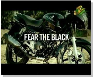 Bajaj Pulsar Fear The Black Ad