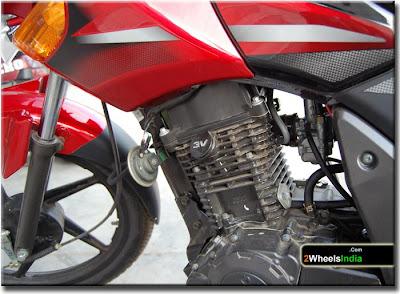 125 cc TVS Flame Engine
