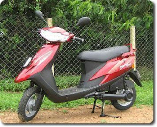 TVS Scooty Teenz EV, Electric Vehicle