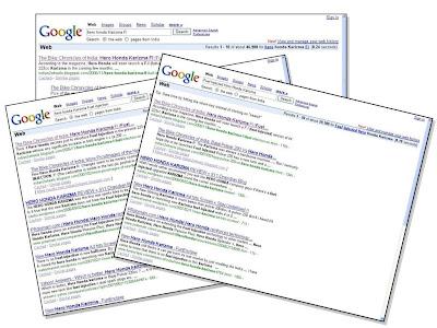 Karizma Fi Google Search