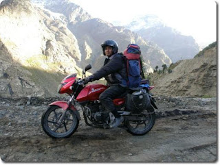 Nilu, the Pulsar 200 DTSi Owner/Rider