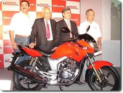 150 cc Hero Honda Hunk Launched