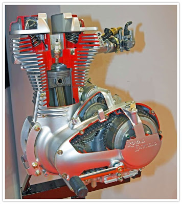 Royal Enfield Unit Construction Engine