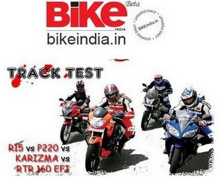 Bike India Race Track Test