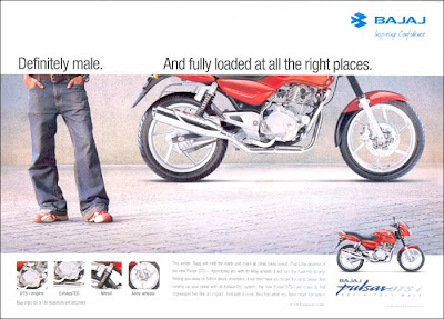 Bajaj Pulsar Definitely Male
