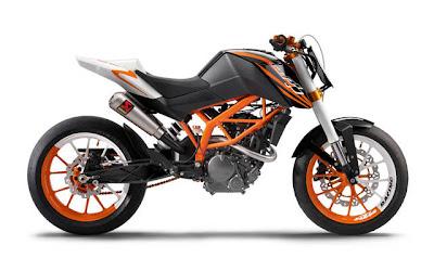KTM 125 Race Concept