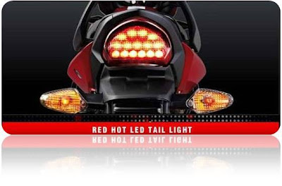 Hero Honda Hunk LRD Tail Light