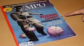 Polri Gugat Majalah Tempo