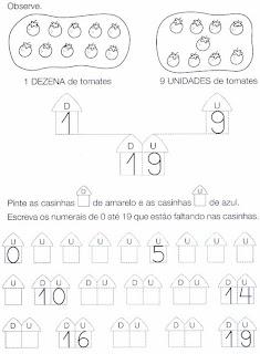 Dúzia, Unidade e Dezena, Composição e decomposição para 2º ano