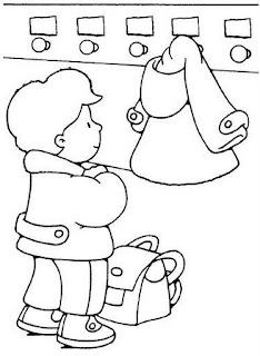 vestuario 735292 Regras e rotina para colorir para crianças