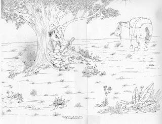 GauchoEnArbolPasado 760244 Desenhos para o Dia do Gaúcho para crianças
