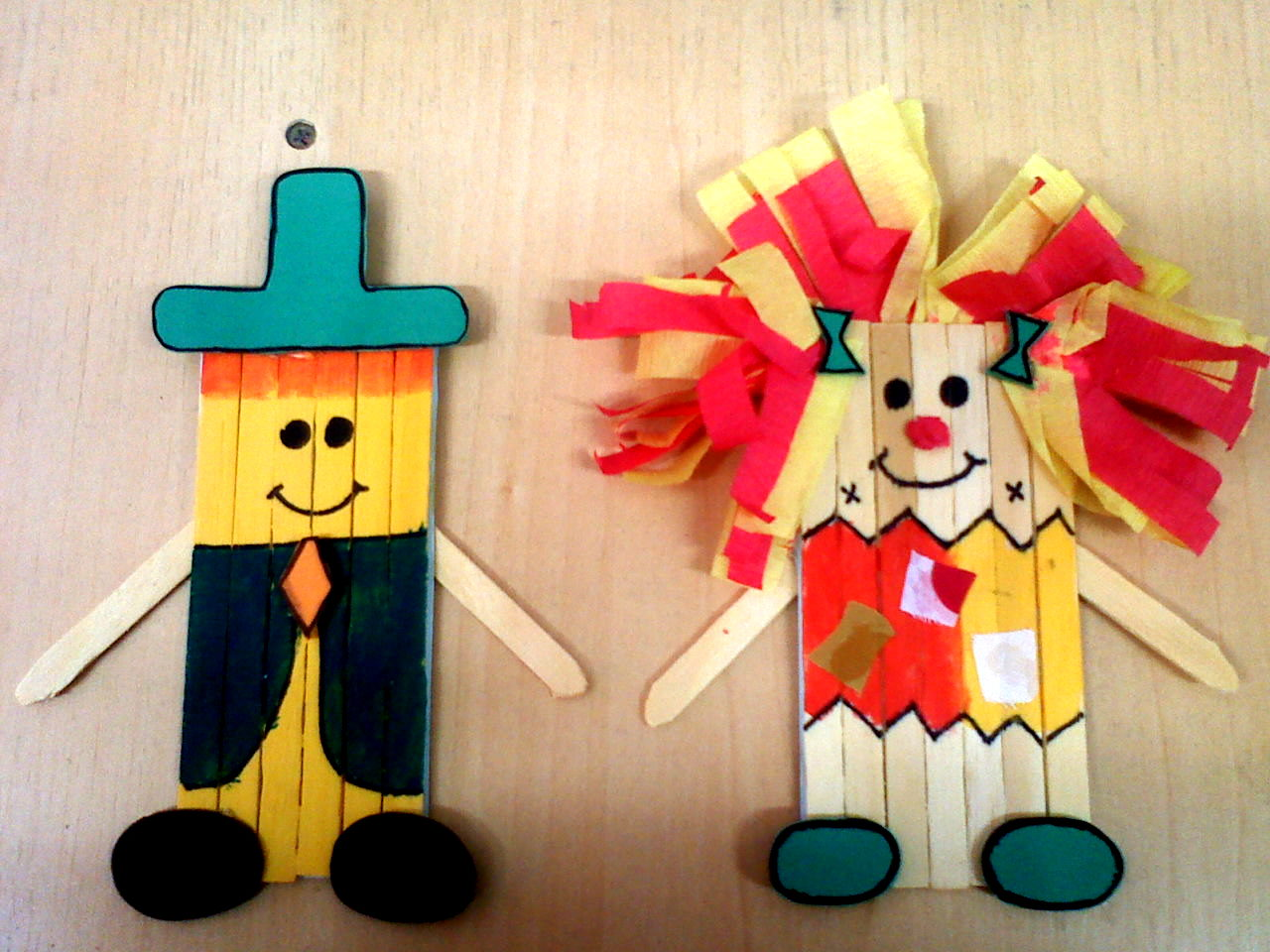 Palitos De Picol   Os Personagens Do S  Tio Do Pica Pau Amarelo