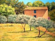 As maravilhosas Paisagens de JeanMarc Janiaczyk (jean marc janiaczyk art painting les oliviers )