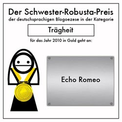 Schwester-Robusta-Preis 2010