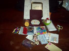 Estos regalos recibi de Laura.