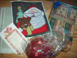 Estos regalos le envié a Erika de México.