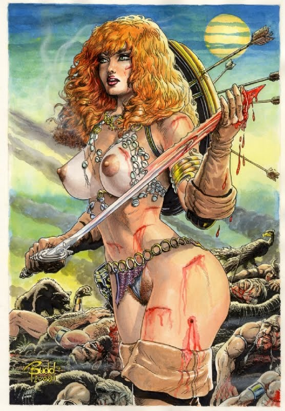 Toples red sonja