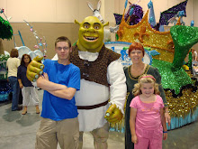 Jamie, Shrek, Fiona, and Heather