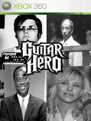 These guys are Guitar Heroes are you? Top left: Mark Chapman- Close friend ...