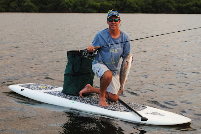 The Pine Island Angler Paddleboard Fly Fishing For