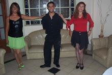 Con Laura y Adrian