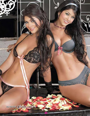 Twin Colombians Davalos hot wallpapers