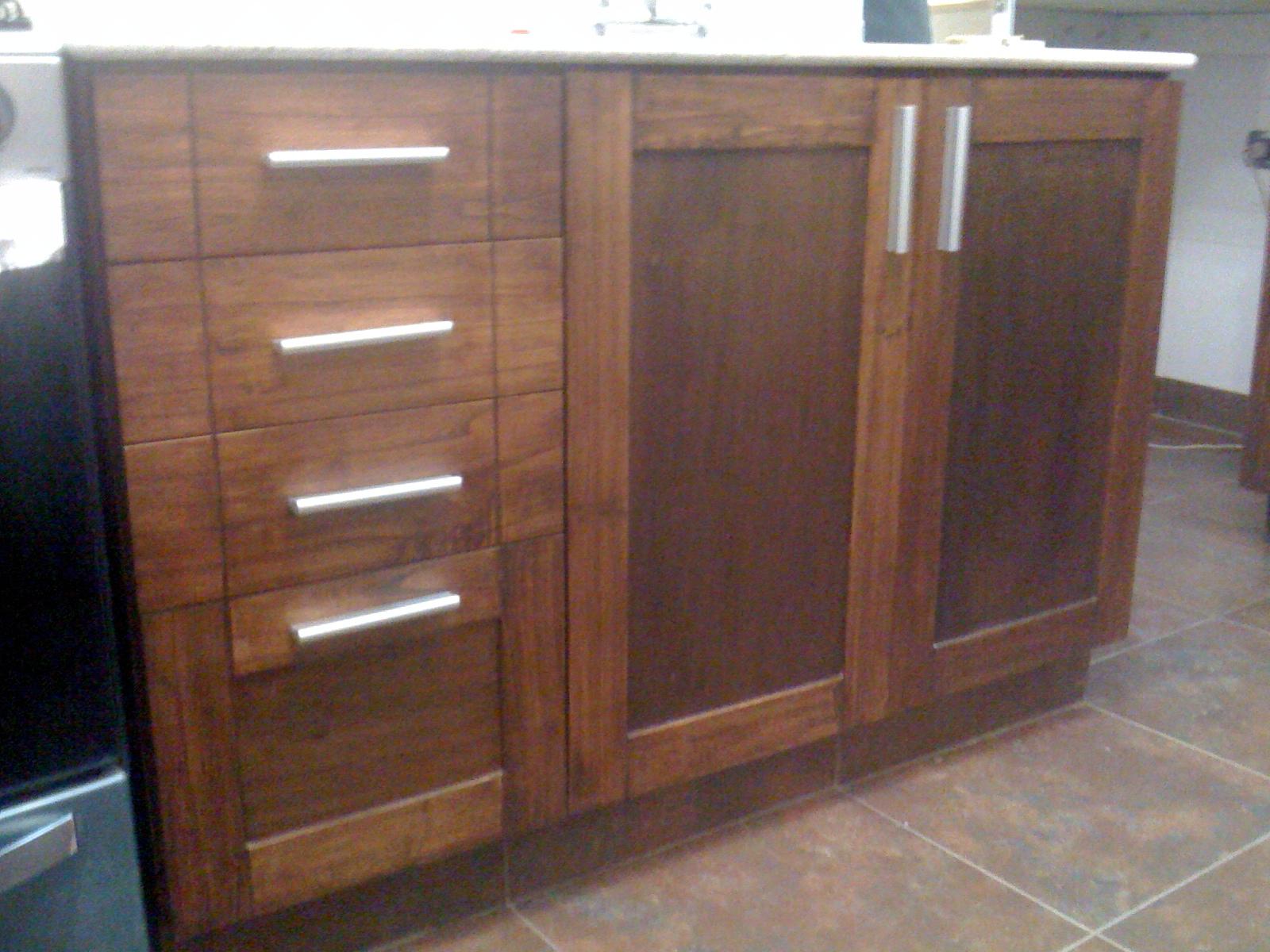 Cocina de madera muebles a medida dise o y decoraci n - Muebles de madera a medida ...
