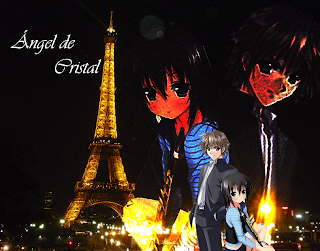 Ángel de Cristal Cap actualizado. Krystal+&+Ethan