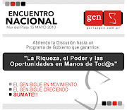 El GEN se moviliza a Mar del Plata - Encuentro Nacional