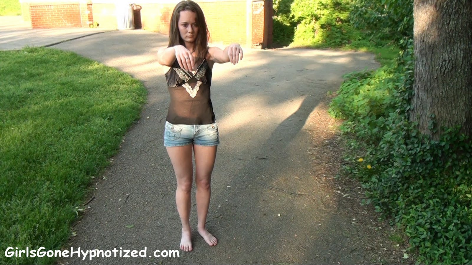 Brittany+4 19 year old hypnotized girl A new video has been posted over at Girls Gone ...