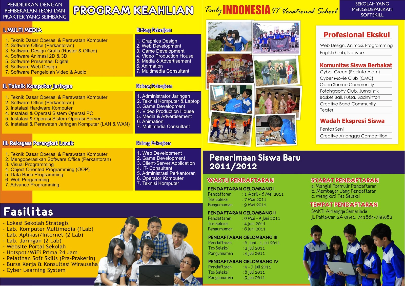 Download Brosur PSB 2011/2012 SMK TI Airlangga