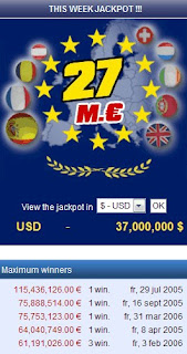 EuroMillones This Week's Jackpot Price Money