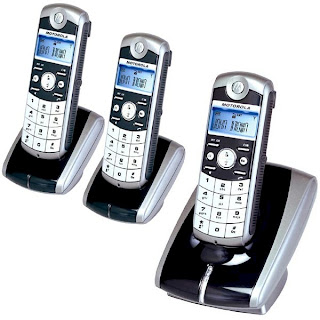 Motorola Digital Cordless Phone ME4051-3