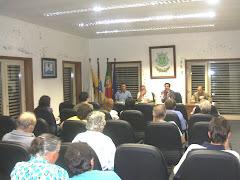 Palestra sobre Protecção da Floresta
