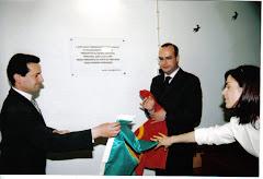 Inauguração da ampliação e beneficiação da Escola Primária de Curvos