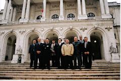 Em visita à Assembleia da República com Deputado Agostinho Silva